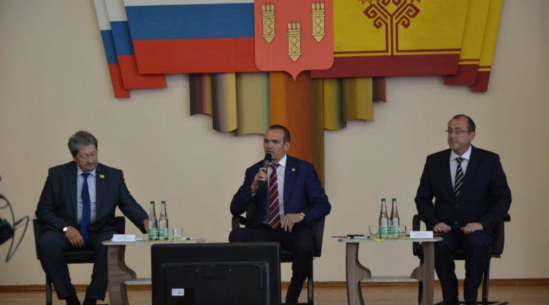 Глава Чувашии принял участие в подведении итогов социально-экономического развития Алатыря за первое полугодие 2018 года 9