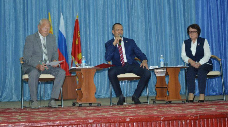 Михаил Игнатьев посетил Алатырский район 15