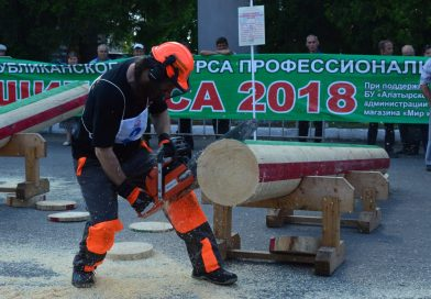 Республиканский конкурс «Лучший вальщик леса – 2018» прошел в Алатыре