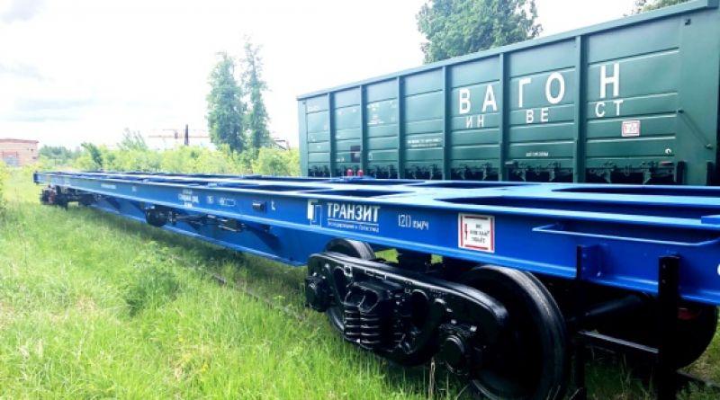 Канашские вагоны едут по России