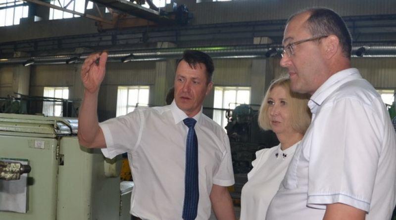 Встреча в рамках информдня прошла на Алатырском механическом заводе