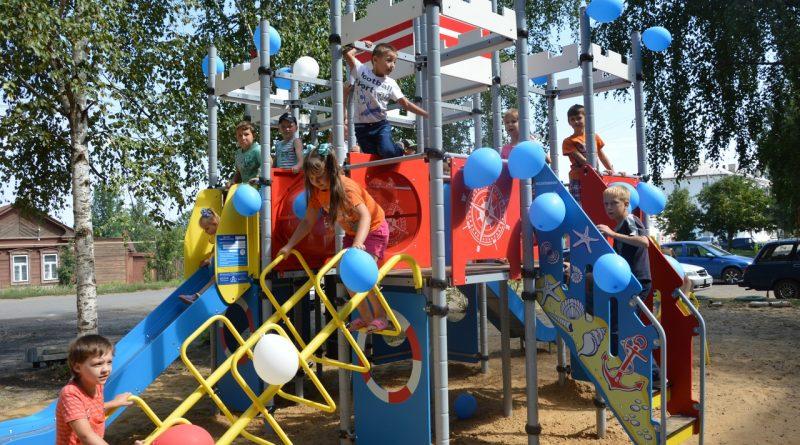 Игровая площадка на радость детям