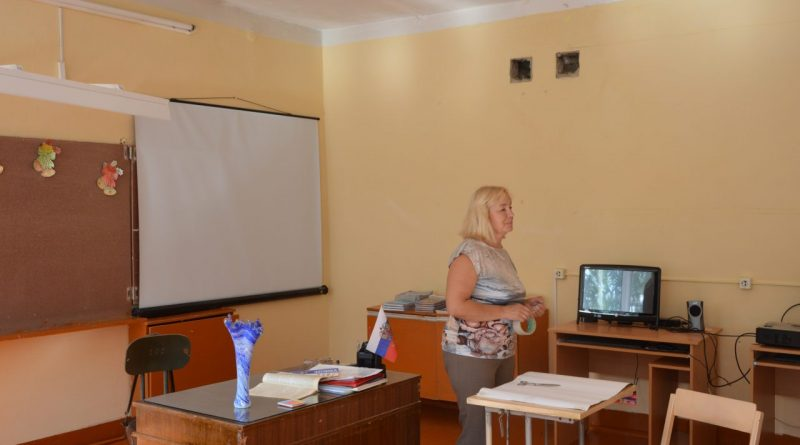 Визит первого заместителя министра образования и молодежной политики Чувашской Республики Алевтины Федоровой в Алатырский район 3