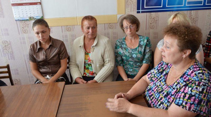 Визит первого заместителя министра образования и молодежной политики Чувашской Республики Алевтины Федоровой в Алатырский район 17