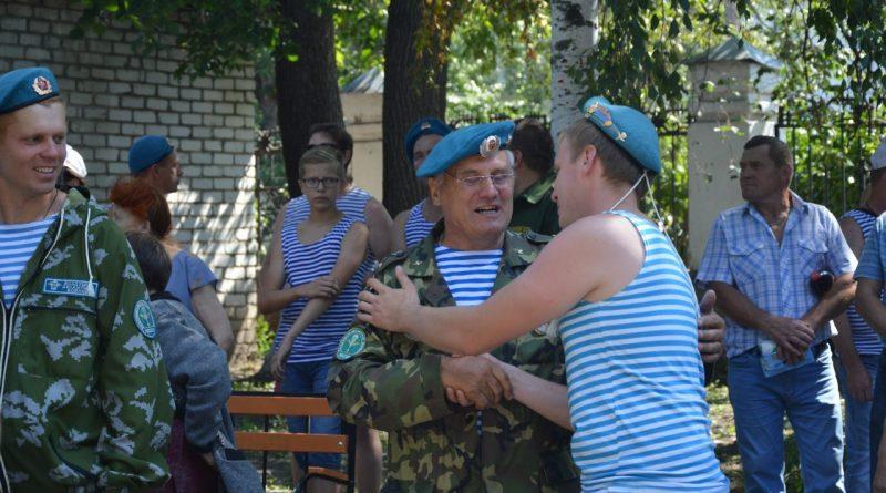 День воздушно-десантных войск отметили в Алатыре 19