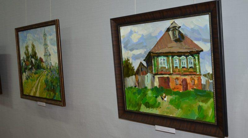 Открытие выставки Валентины Кузиной
