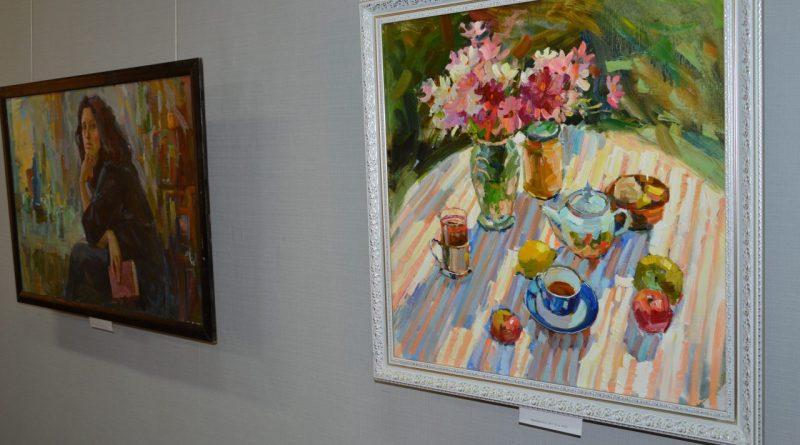 Открытие выставки Валентины Кузиной 1