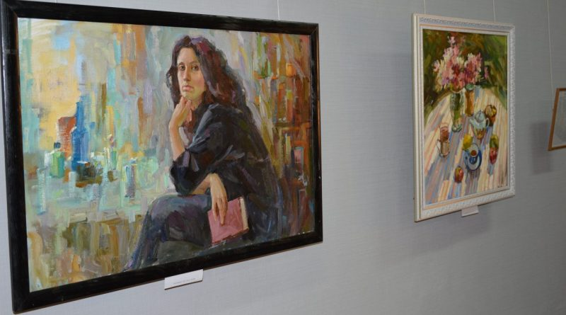 Открытие выставки Валентины Кузиной 2