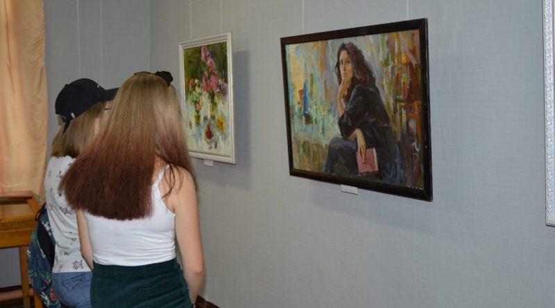 Открытие выставки Валентины Кузиной 5