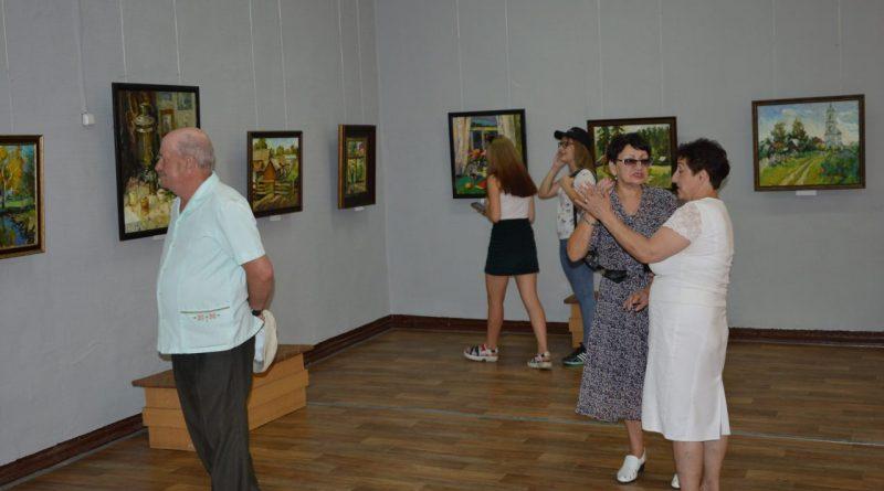 Открытие выставки Валентины Кузиной 6