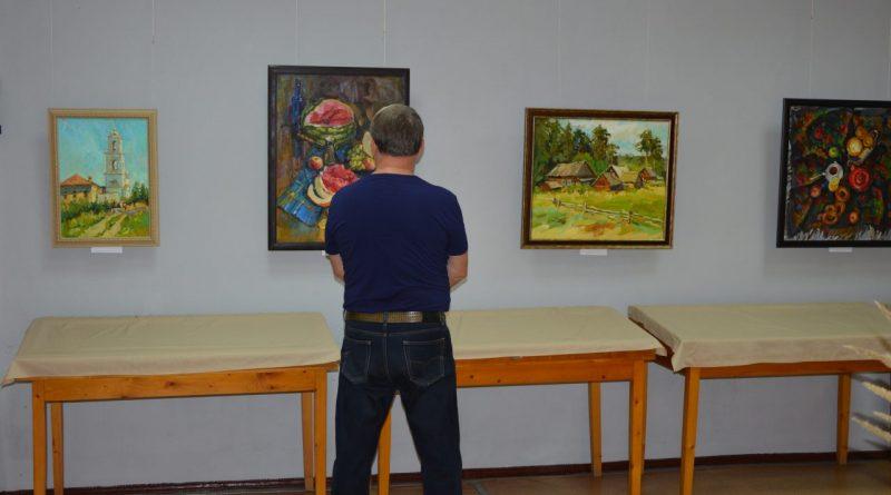 Открытие выставки Валентины Кузиной 9
