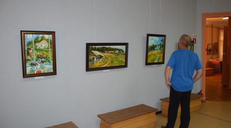 Открытие выставки Валентины Кузиной 10
