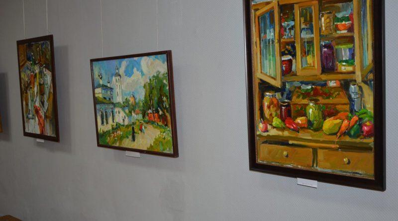Открытие выставки Валентины Кузиной 12
