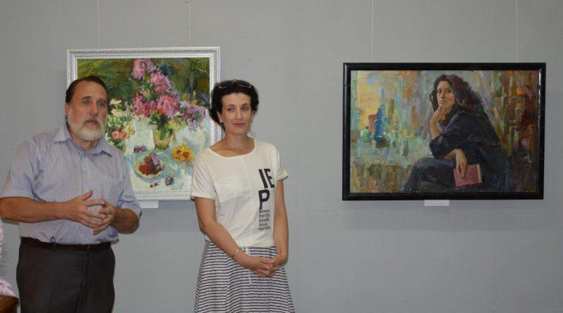 Открытие выставки Валентины Кузиной 13