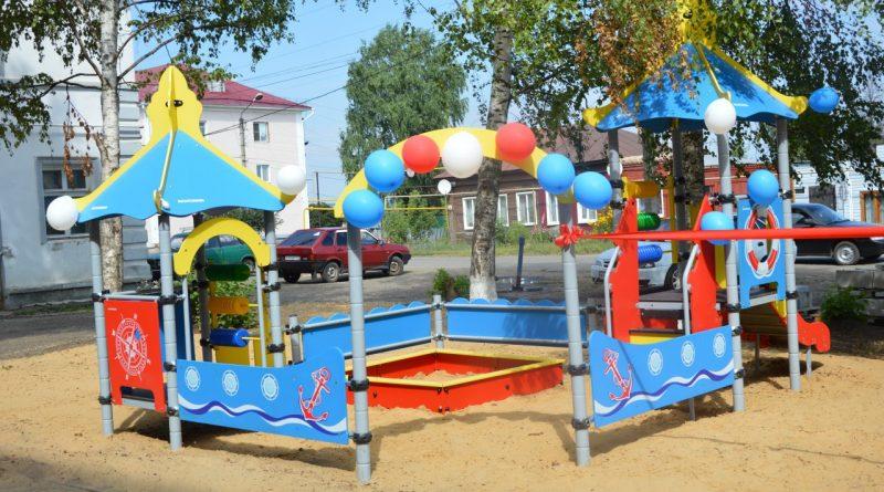 Открытие детской площадки у Центра Луки Войно-Ясенецкого