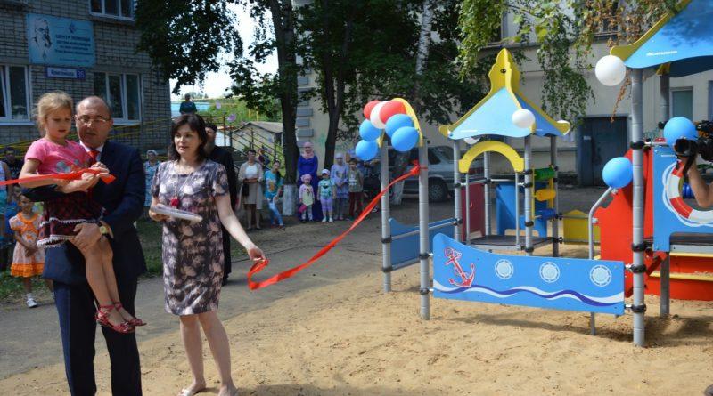Открытие детской площадки у Центра Луки Войно-Ясенецкого 3