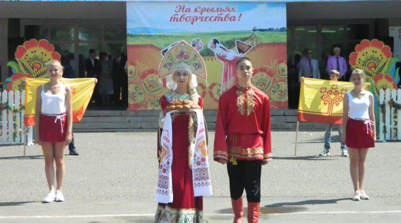 Народные коллективы семи регионов страны поздравили Алатырь с Днем рождения 6