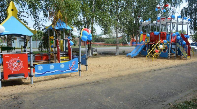 Открытие детской площадки у Центра Луки Войно-Ясенецкого 8