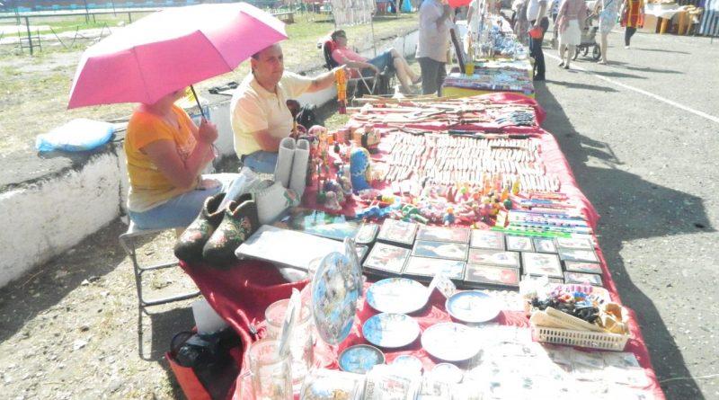 Народные умельцы демонстрировали таланты в день города 5