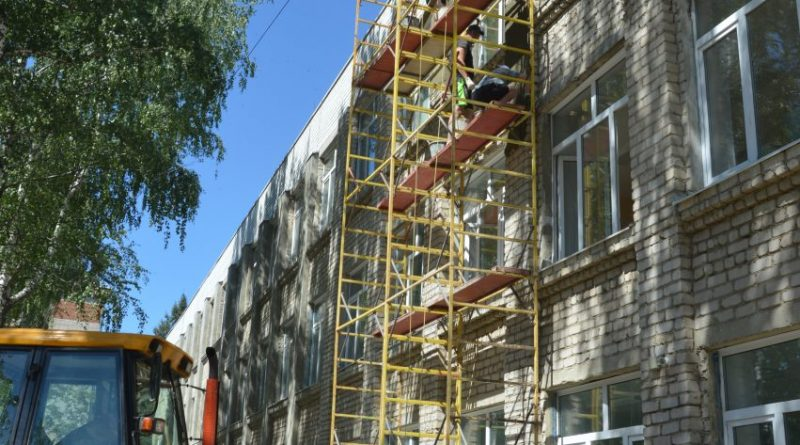Алатырская школа № 2 обновляется полным ходом 9