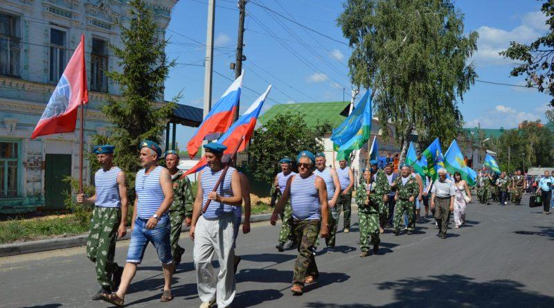 День воздушно-десантных войск отметили в Алатыре 21