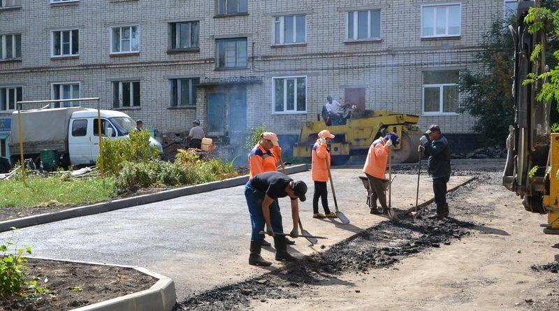 На особом контроле - благоустройство и ремонт дворовых территорий