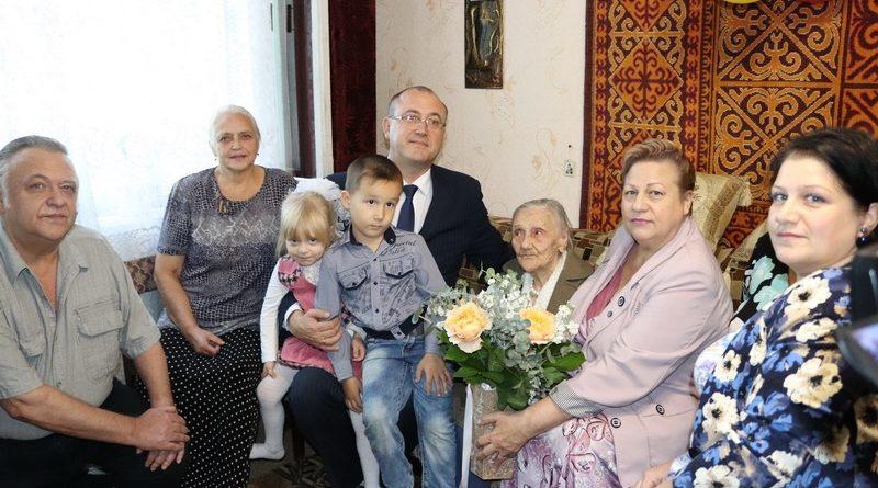 100-летие отметила жительница Алатыря Ираида  Ктитор