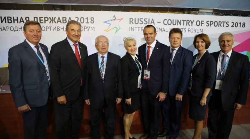 Глава Чувашии Михаил Игнатьев в Ульяновске в рамках форума «Россия – спортивная держава» провел деловые встречи