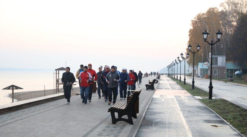 Утро для глав администрации муниципалитетов началось с пробежки с Главой Чувашии 1