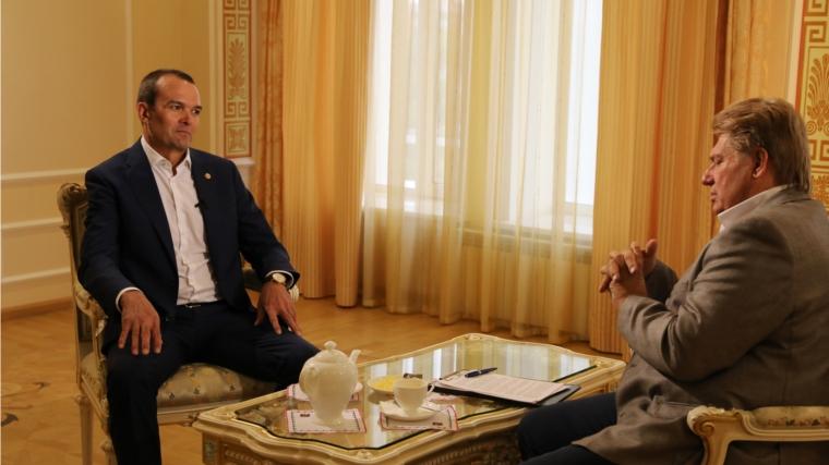Михаил Игнатьев: «Главное – быть честным перед собой и народом Чувашии»