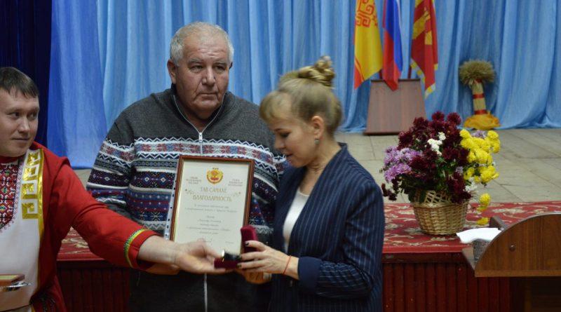 В Алатырском районе чествовали работников сельского хозяйства 21