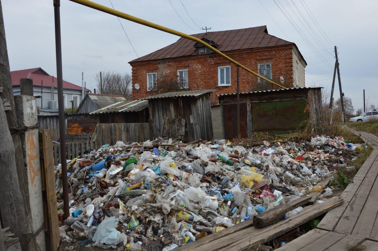 Жители микрорайона Стрелка наводят чистоту собственными силами 2