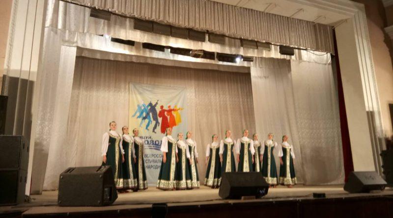 Ансамбль из Алатыря – призер состязания народного танца