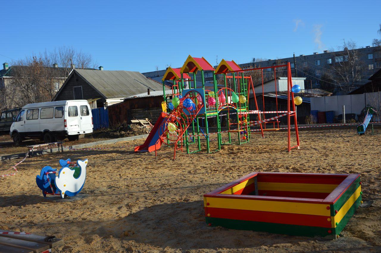 Построить  детскую площадку помогло инициативное бюджетирование 2