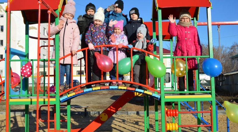 Построить  детскую площадку помогло инициативное бюджетирование