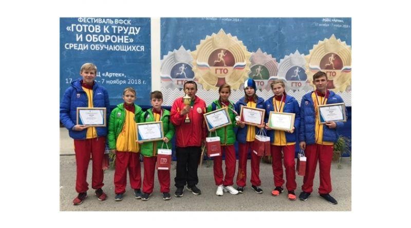 Школьниц из Алатыря Дарья Мишанина – призер Всероссийского фестиваля ГТО
