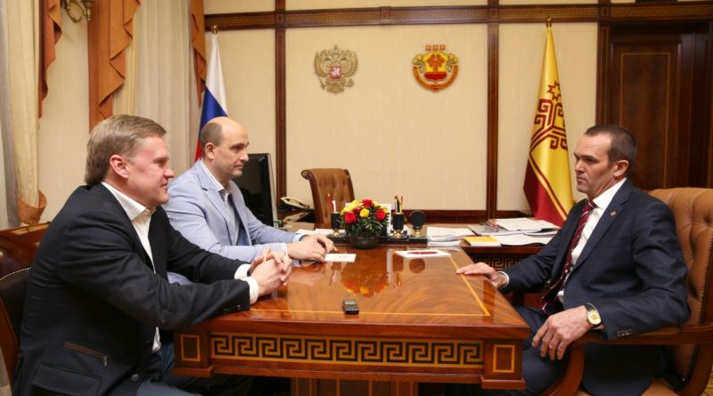 Глава Чувашии встретился с руководителем федерации современного пятиборья