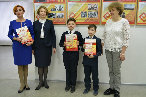 Алатырские гимназисты стали победителями республиканского конкурса «Мой народ – моя гордость»