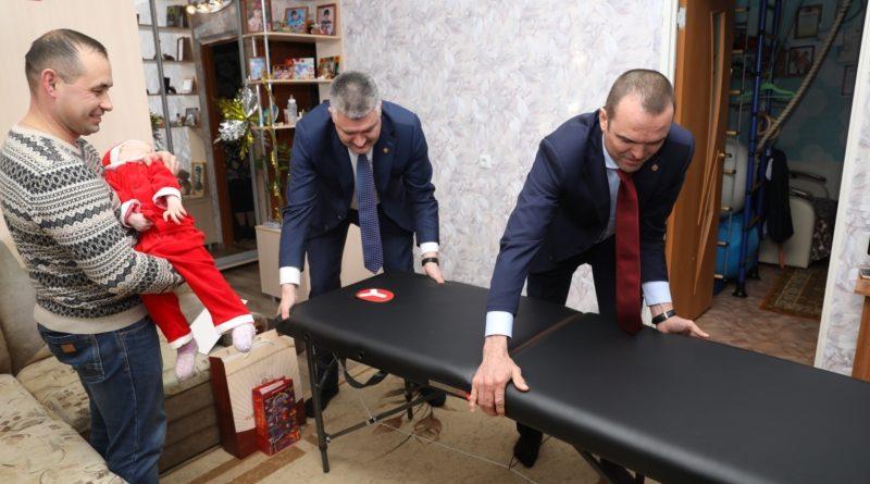 Трофим Егоров из Новочебоксарска получил новогодний подарок от Главы Чувашской Республики