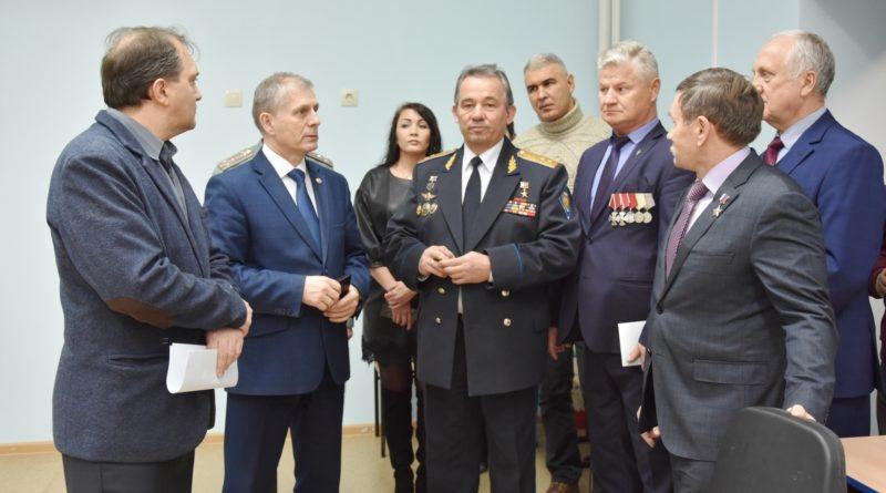Учащимся Чувашского кадетского корпуса провели открытый урок Герои России 2