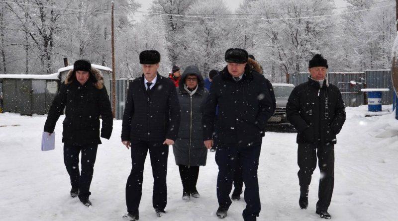 Министр труда и социальной защиты Чувашской Республики С.П. Димитриев посетил поселок Атрать