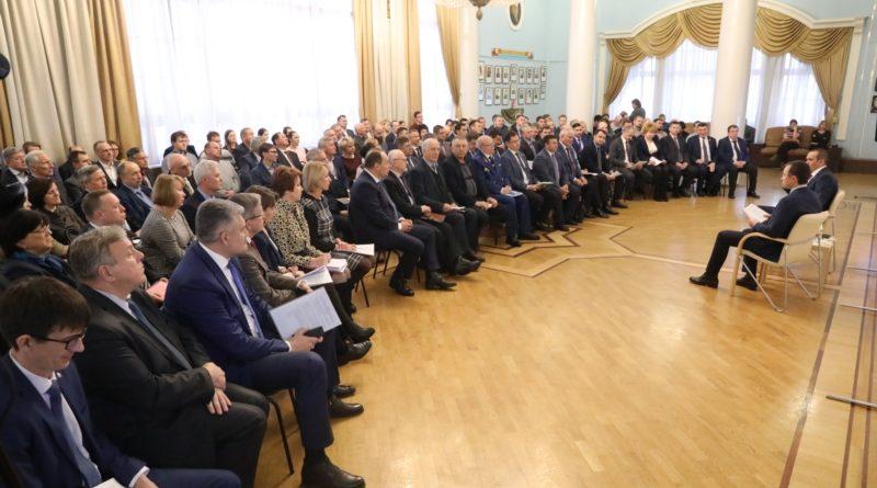 Михаил Игнатьев встретился с пр