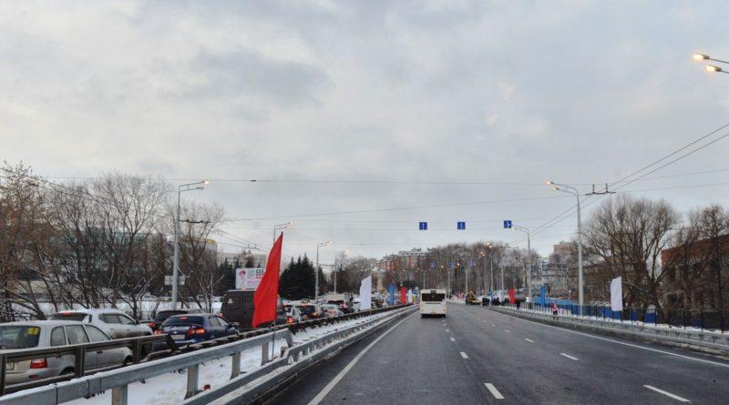 В столице Чувашии завершили реконструкцию Московского моста
