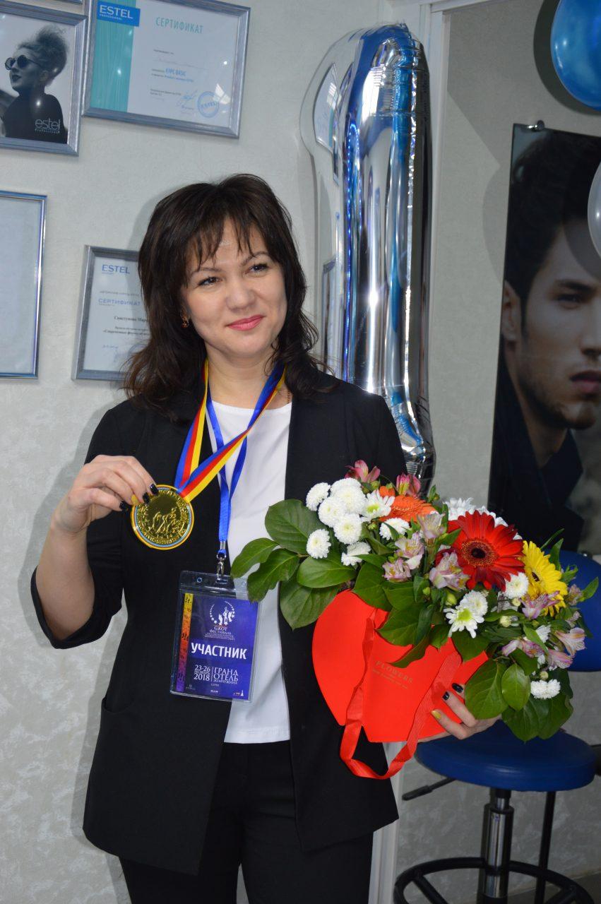 Парикмахер из Алатыря стала победителем II Международного чемпионата эстетов в Сочи