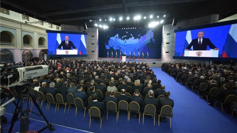 Президент России Владимир Путин: «Национальные проекты построены вокруг человека, ради достижения нового качества жизни для всех поколений»