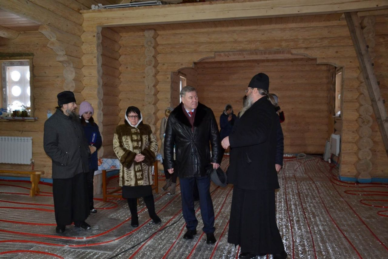 Депутат Госдумы РФ  Николай Малов посетил Алатырский район 1