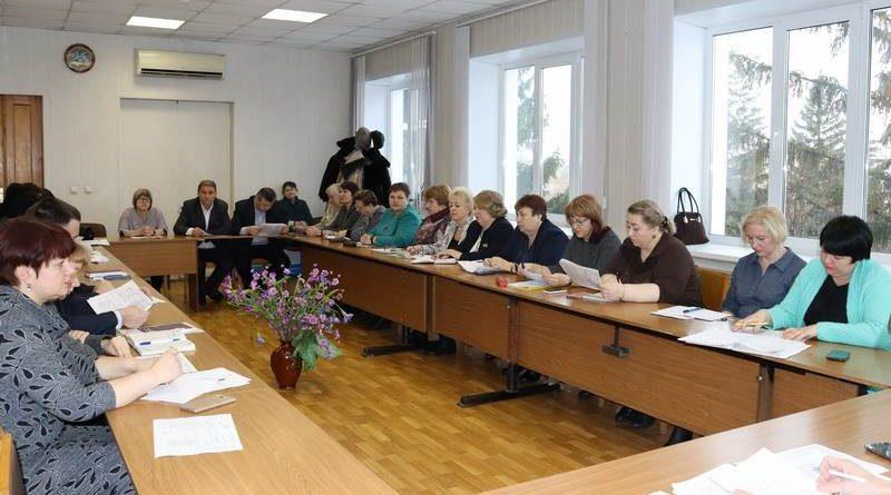 Ежемесячное итоговое совещание прошло в администрации города Алатыря