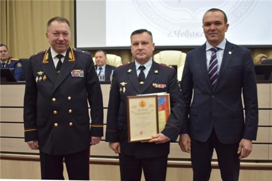 Межмуниципальный отдел МВД России «Алатырский» стал первым в рейтинге отделов внутренних дел ЧР
