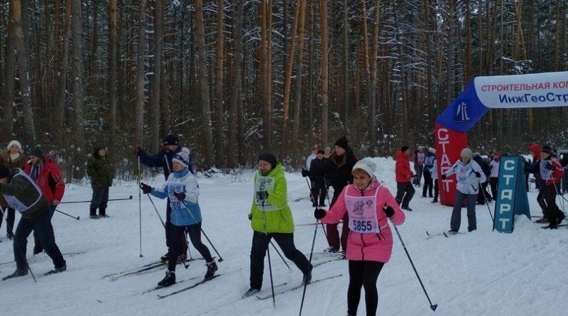 Алатырцы приняли участие в «Лыжне России-2019»