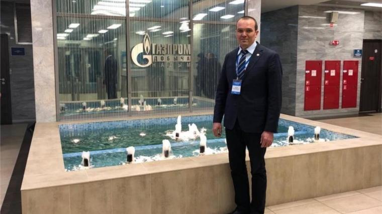 Михаил Игнатьев находится в командировке в ЯНАО
